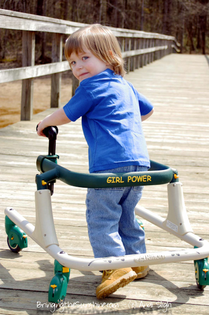 cerebral palsy - gait trainer - walker