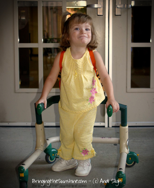 gait trainer - cerebral palsy - children