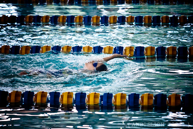 swimming - meet - cerebral palsy - backstroke, daughter, swim team, inclusion
