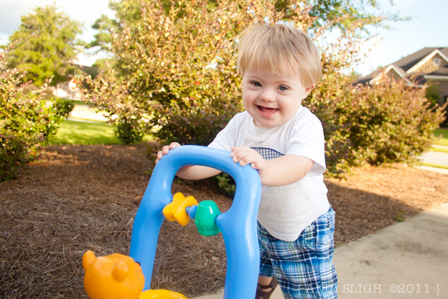 Down syndrome - toddler