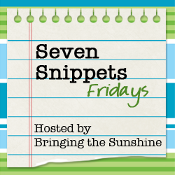 Introducing: Seven Snippets Linkup!