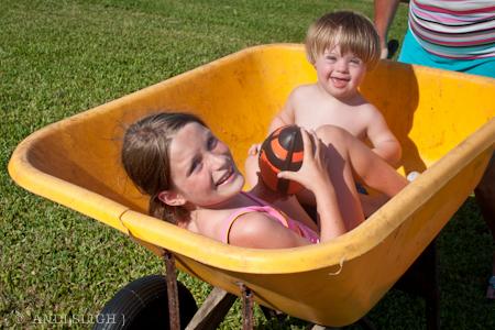 Sarah Kate, Nathan, summer