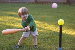 Future Slugger? Maybe.
