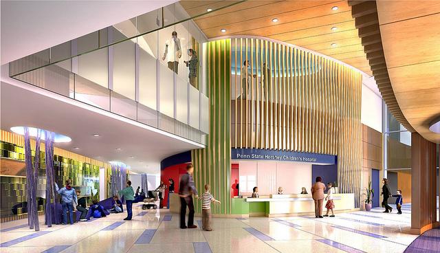 Hershey Children's Hospital | Photo Courtesy Penn State