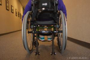 Sarah Kate's New Wheels!
