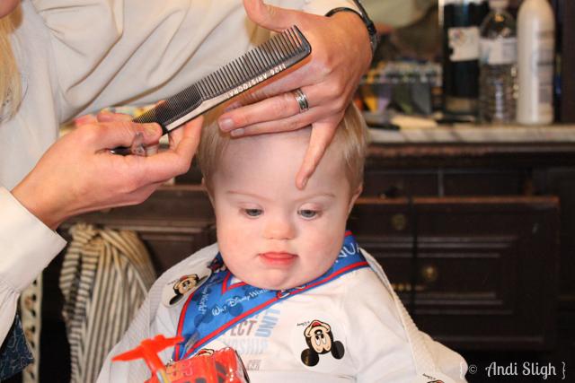 Nathan's First Haircut