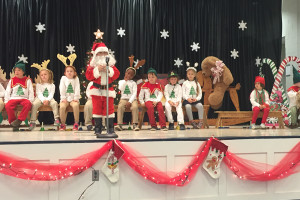 The Joyful Tale of the Kindergarten Christmas Program