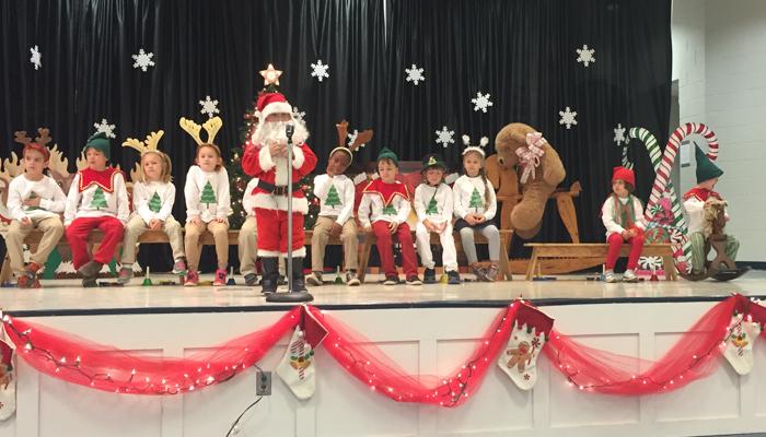 The Joyful Tale of the Kindergarten Christmas Program